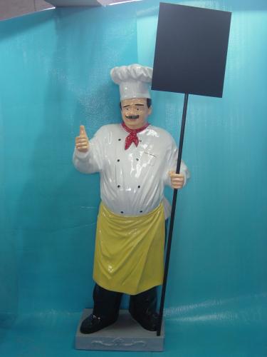 Koch und kellner herzlich willkommen bei deko mit pfiff for Koch und kellner